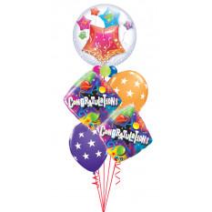 Félicitations Big Stars Bouquet
