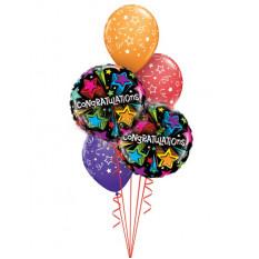 Étoiles filantes Félicitations Bouquet