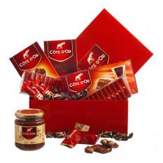 Coffret Amoureux Chocolat Côte D'Or