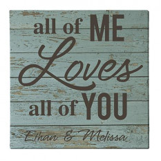 Tout de moi aime tout de vous Toile