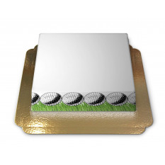 Thème Cake-Photo Frame Golf (Large)