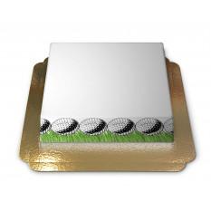 Cake-Photo Frame thème Golf (Petit)