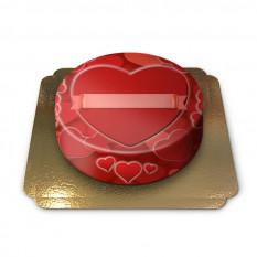 Gâteau petits coeurs (petit)