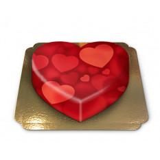 Cœur en forme de cœur (moyen)