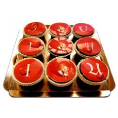 J'aime les Cupcakes U Cupidon