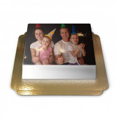 Cake-Photo Frameless (Medium)