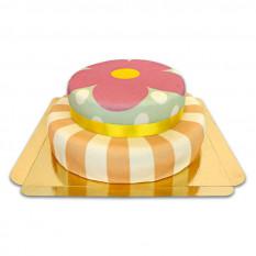 Gâteau ludique, en 2 étapes