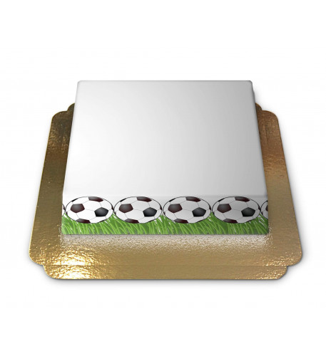 Thème Football Cake-Photo Frame (Small)
