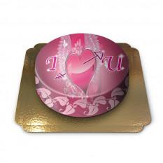 Gâteau Je t'aime (Petit)