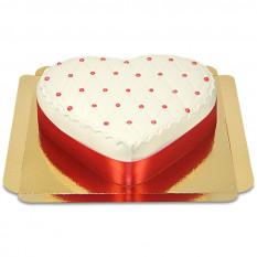 Gâteau de luxe en forme de coeur (Medium)