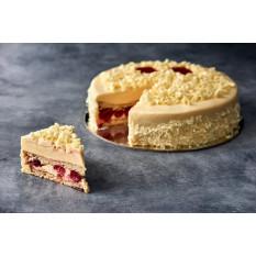 Gâteau à la vanille et à la framboise