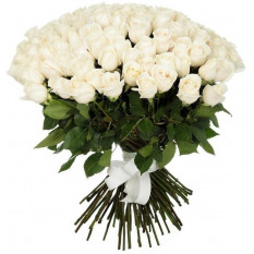 101 roses blanches