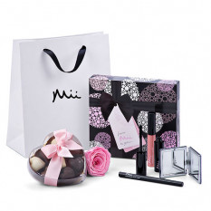 Mii Luxurious Make Up Set avec Godiva & Rose