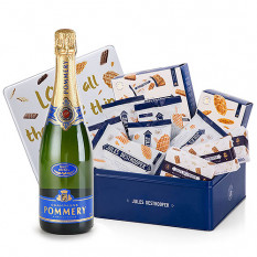 Pommery Brut et Jules Destrooper Office Box
