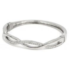 Bracelet CZ en acier inoxydable