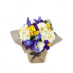 Blue Belle (Vase En Verre)