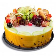 demi-kg de gâteau aux fruits frais