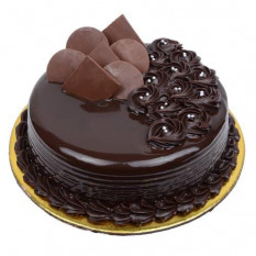 Gâteau au chocolat noir demi-Kg