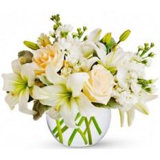 Fleur des fleurs blanches