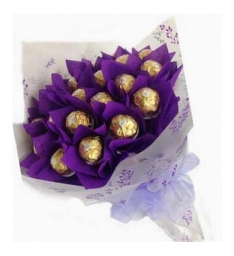 16 Bouquet Ferrero Rocher
