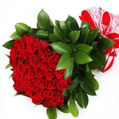 Bouquet de roses rouges 36