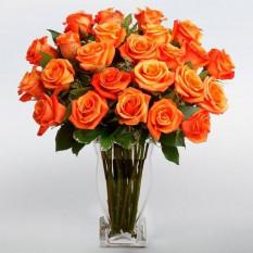 24 Vase Roses Roses