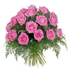 Bouquet de roses roses 24
