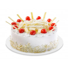 demi-kilo de gâteau de forêt blanche