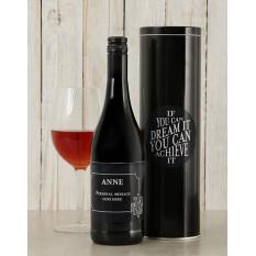 Boîte à vin Dream It personnalisée