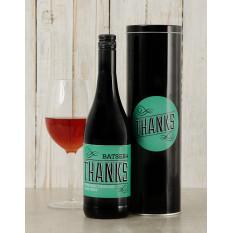 Boîte à vin de remerciement personnalisée