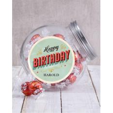 Bonbonnière d'anniversaire personnalisée (Ferrero)