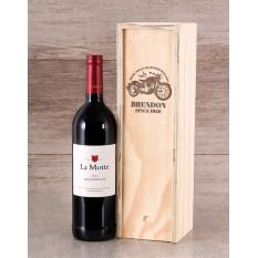 Caisse à vin personnalisée avec l'âge