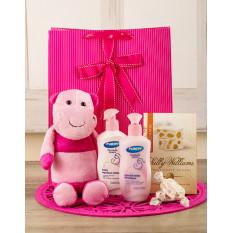 Cadeau bébé heureux hippo