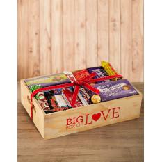Caisse de chocolat assorties