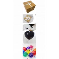 Anniversaire Pop Me Balloon Dans Une Boîte