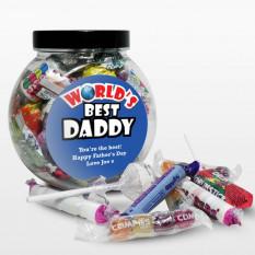 Bocal sucré personnalisé fête des pères