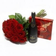 Roses, Chocolats Et Vin