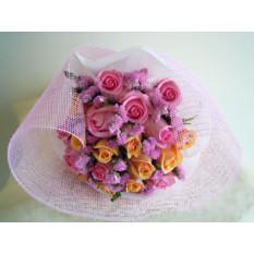 Bouquet en pastel