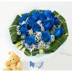 Precious Blue * Teddy Bear GRATUIT