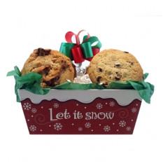 Laissez-le Snow Cookie Tray
