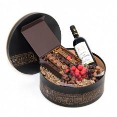Irrésistible avec des chocolats et du vin de Bordeaux (120G)