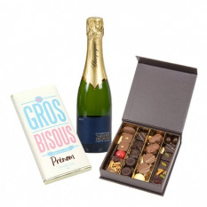 Big Chocolate And Sparkling Kisses (75 cl CHOICE OF BOTTLE)
