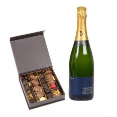 Chocolats Winemaker et Champagne 75Cl (250G)