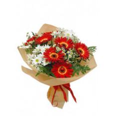 """""""Bouquet de rêves rouges et blancs"""""""