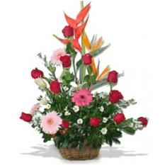 Panier fleuri (Petit)