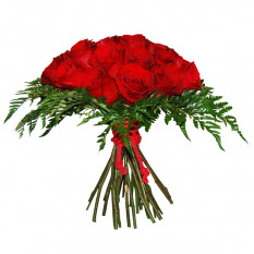 Bouquet de roses rouges (Grand)