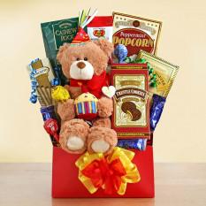 Panier cadeau de luxe Beary Happy Birthday
