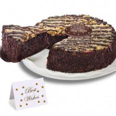 """Gâteau au chocolat allemand """"Meilleurs voeux"""""""