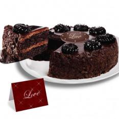 Gâteau Mousse au Chocolat - Saint-Valentin