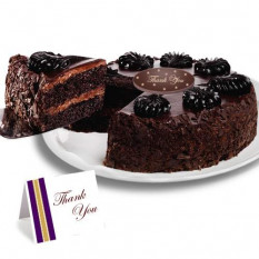 "Gâteau Mousse au chocolat ""Merci"""